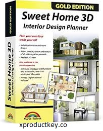 Sweet Home 3D 6.4.2 Crack + Keygen Free Download 2021